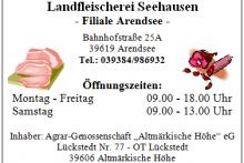 hofladen Landfleischerei Seehausen - Filiale Arendsee